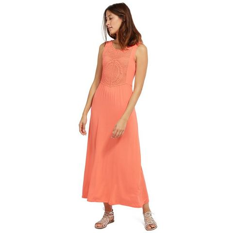 TOM TAILOR Jurk »Maxi-jurk met kant«