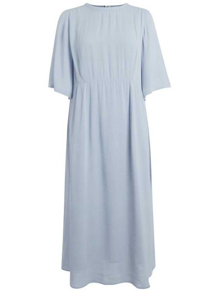 Pieces Emili Sindlev jurk blauw
