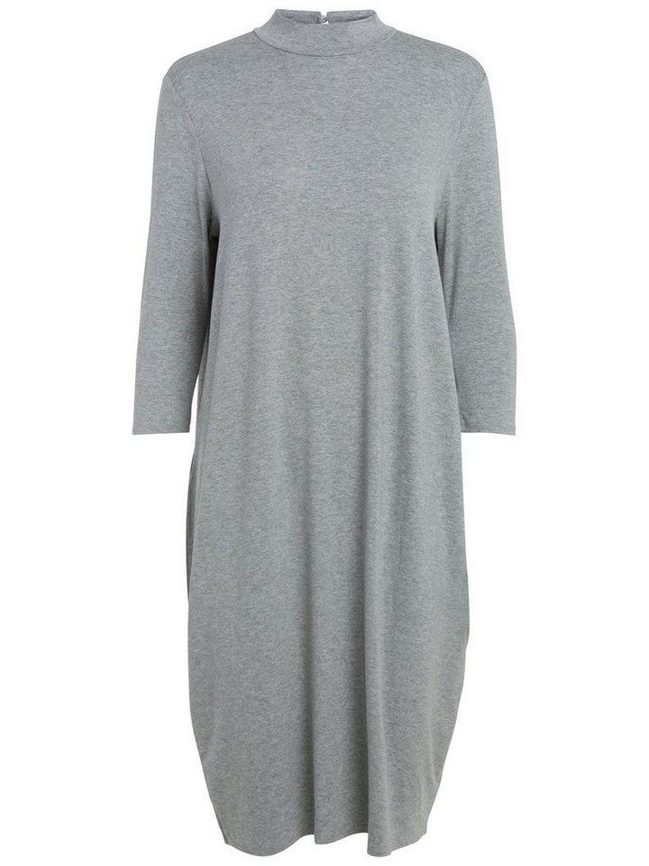 Pieces Oversized jurk grijs