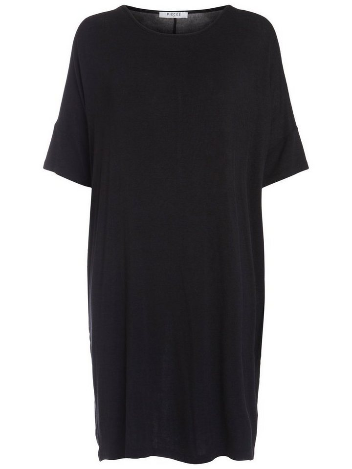 Pieces Oversized jurk zwart