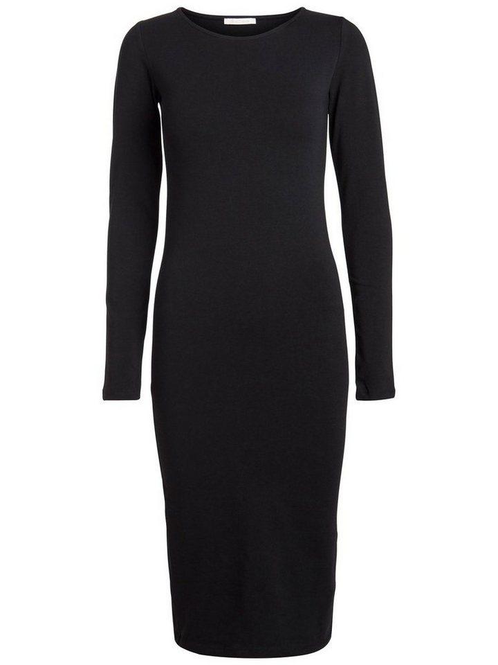 Pieces Midi jurk zwart