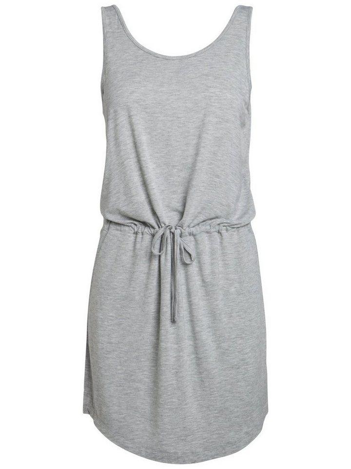 Pieces Mouwloze jurk grijs