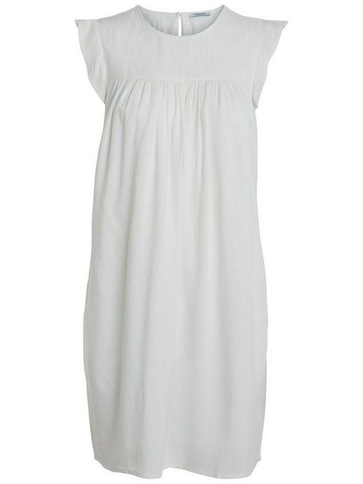 Pieces Korte mouw jurk wit