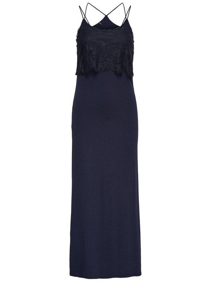 ONLY Maxi jurk blauw