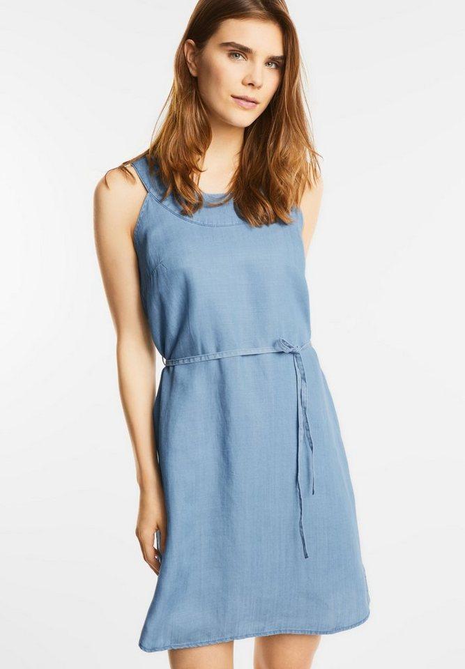 Street One jurk in jeanslook Toni blauw