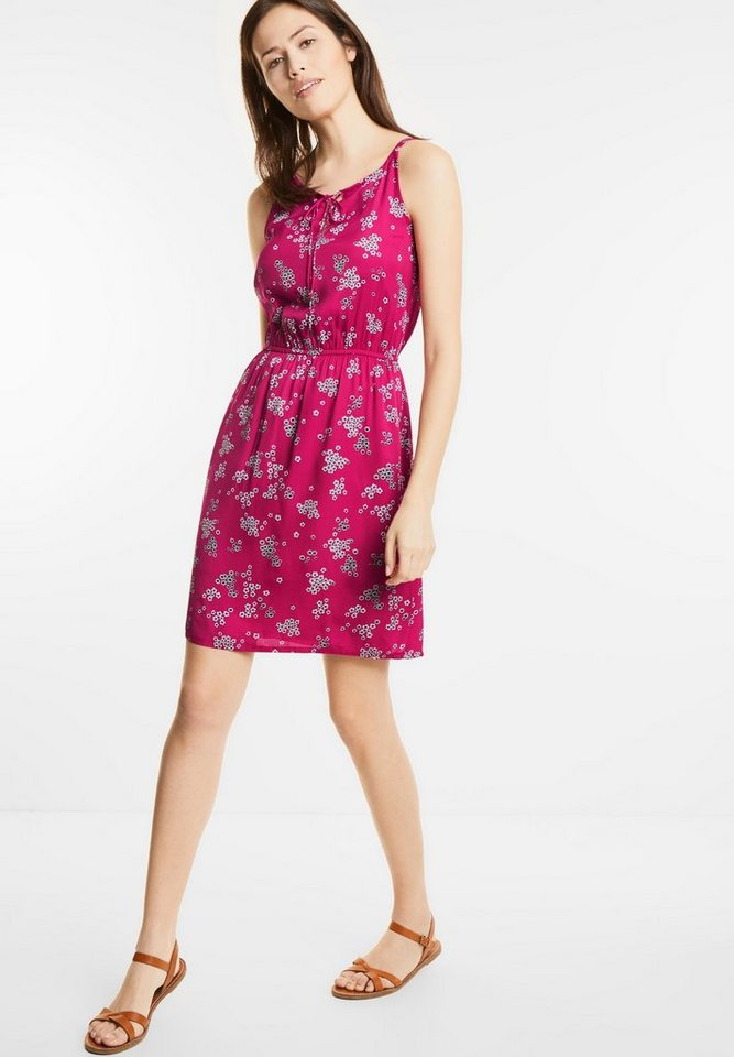 Street One jurk met bloemenprint Posy roze