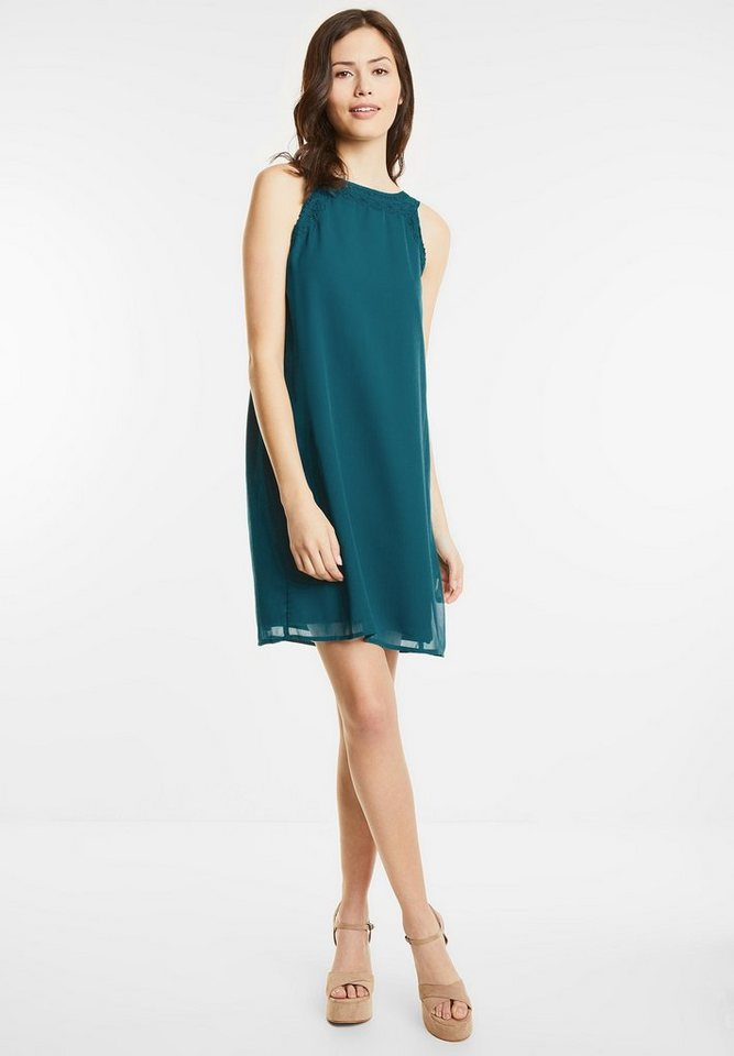 Street One jurk met kant Portia groen