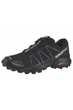 salomon runningschoenen »speedcross 4 w« zwart