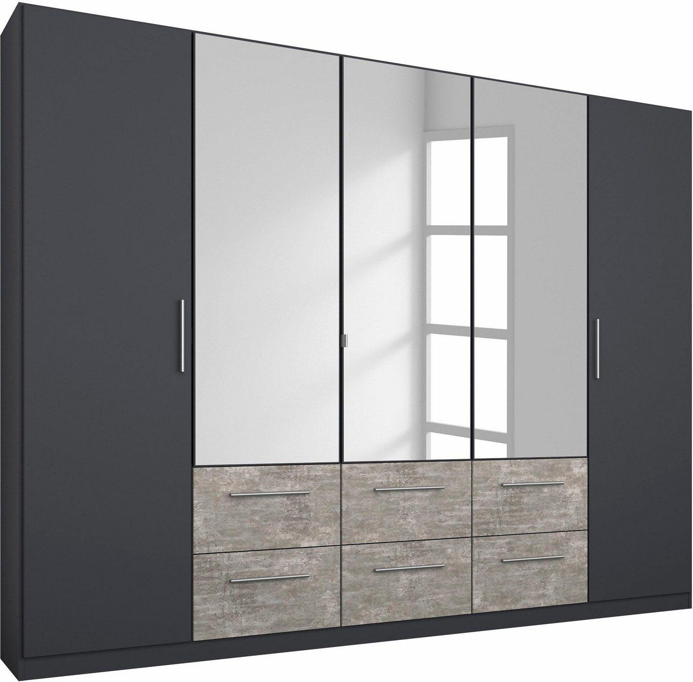RAUCH garderobekast Siegen, met spiegel en laden