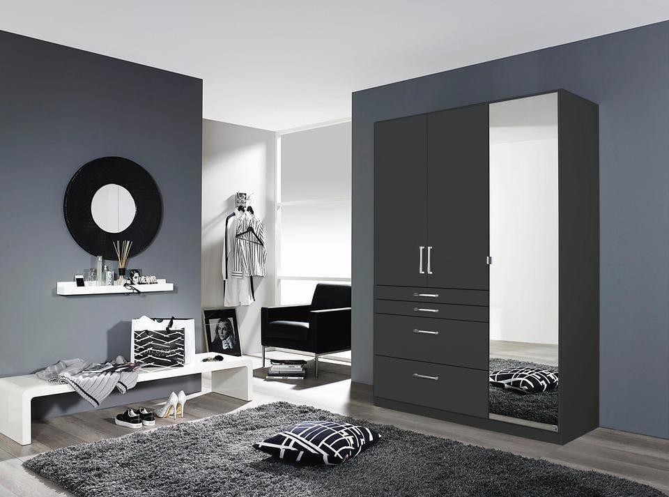 Kledingkast Licht Grijs : Rauch pack`s kledingkast met spiegel koop je bij otto