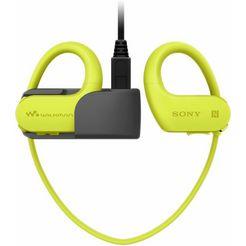 sony nw-ws623 bluetooth-headset geel