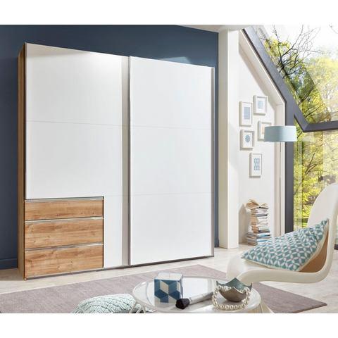 witte zweefdeurkast Fresh To Go breedte 250 cm 2 deurs 324226