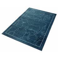 vloerkleed voor de kinderkamer, »sprookje 6«, grimmliis, rechthoekig, hoogte 2 mm, machinaal geweven groen