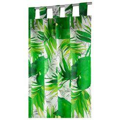 tom tailor gordijn jungle hxb: 255x135 (1 stuk) groen