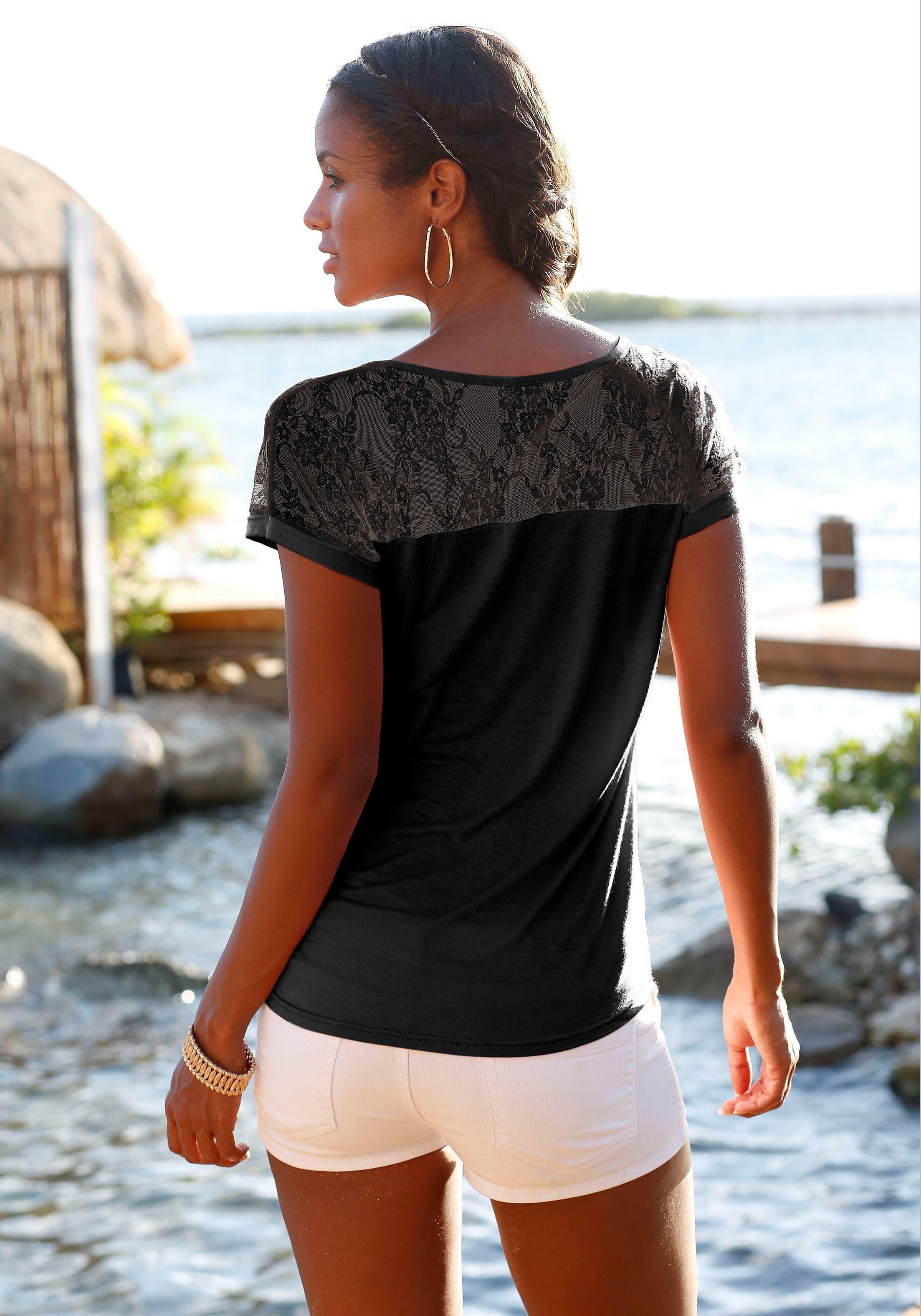 lascana strandshirt online shop otto. Black Bedroom Furniture Sets. Home Design Ideas