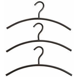 kleerhanger, set van 3 zwart