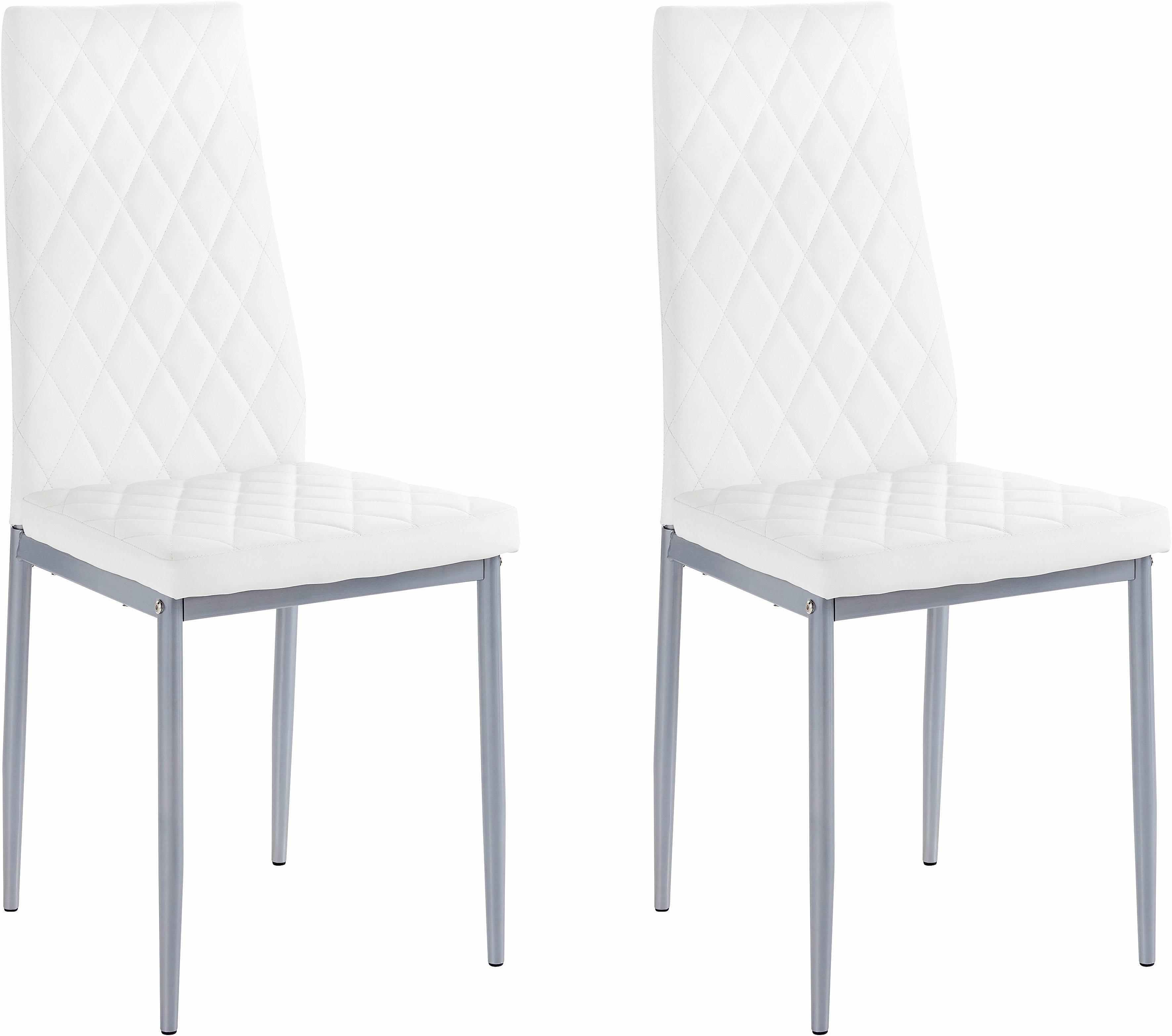 Op zoek naar een my home stoel BROOKE (set van 2 of 4) overtrekstof in imitatieleer (set)? Koop online bij OTTO
