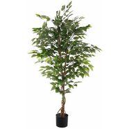 creativ green kunstplant ficus benjamini (1 stuk) groen