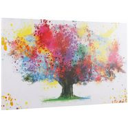 inosign, decoratief paneel »coloured tree«, 118x70 cm multicolor