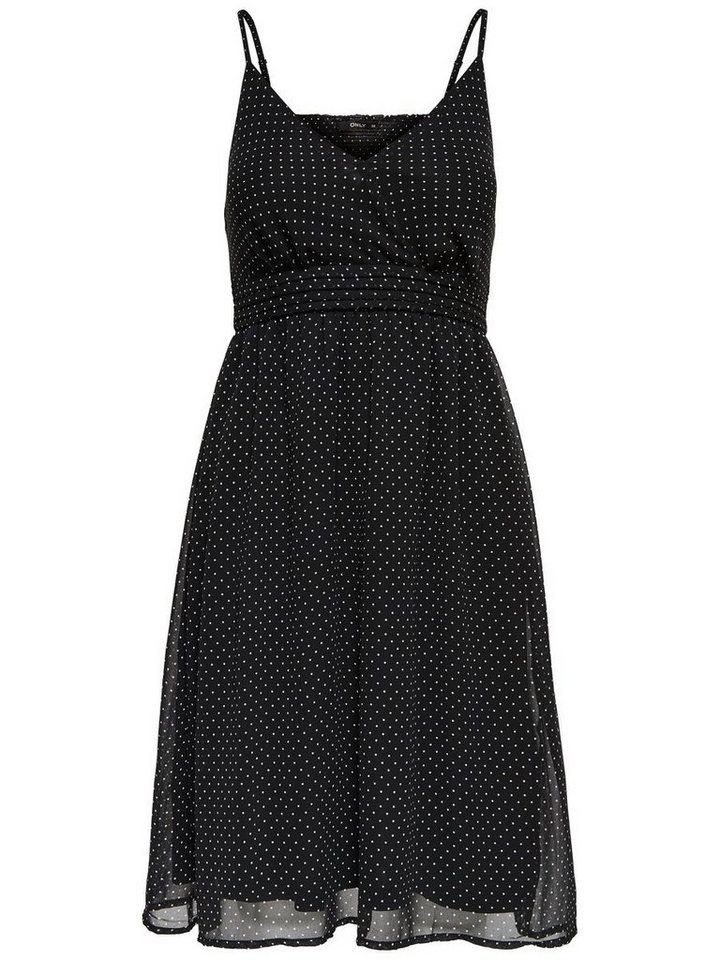 ONLY Mouwloze jurk zwart