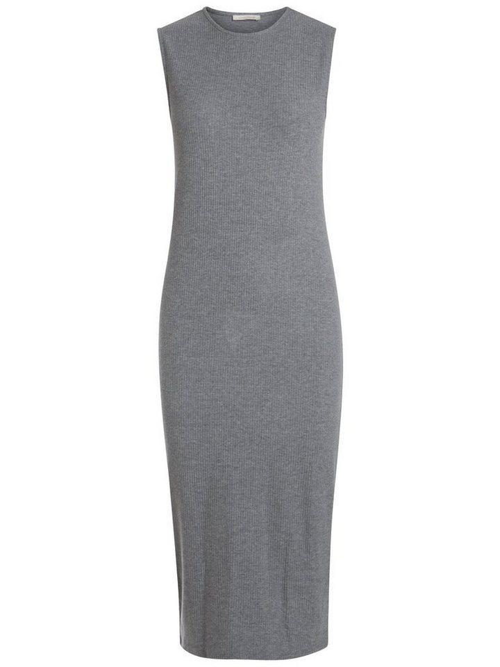 Pieces Klassieke naadloze jurk grijs