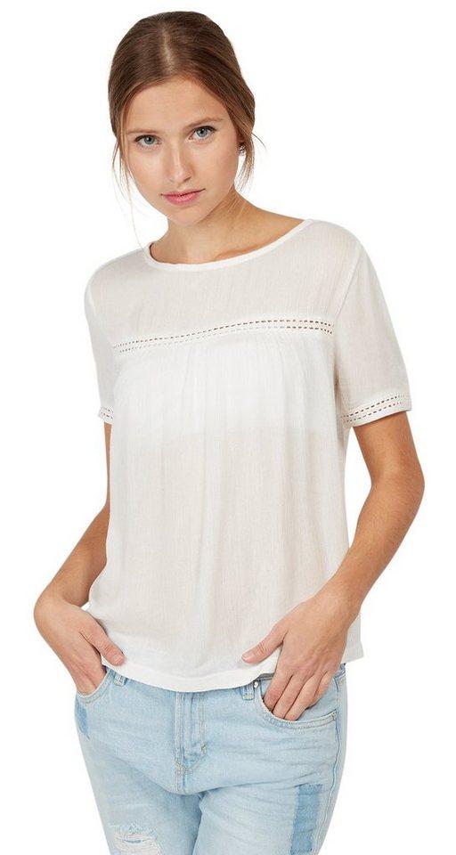 - TOM TAILOR DENIM T - shirt T - shirt met Engels borduursel