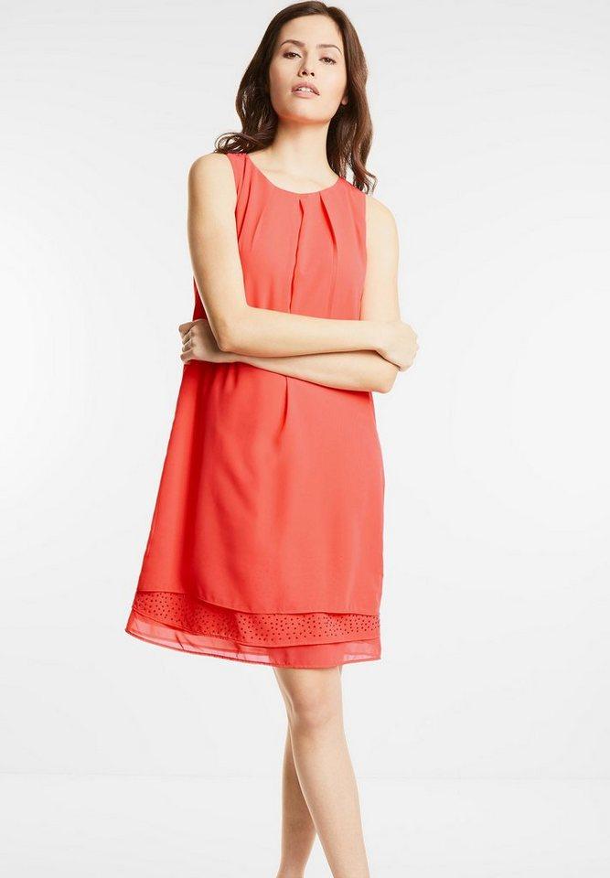 Street One jurk met strass Madeleine rood