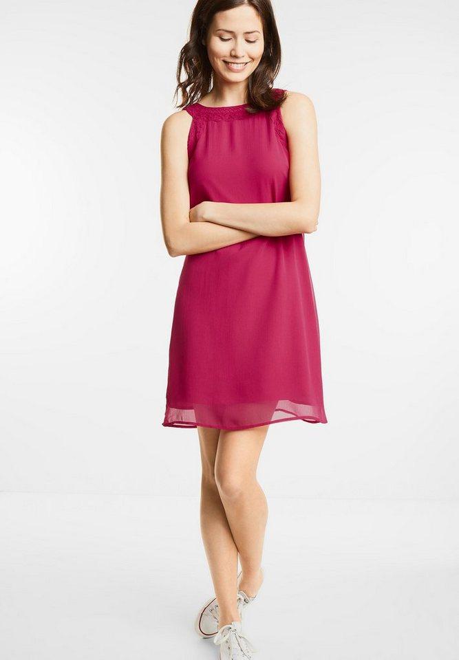 Street One jurk met kant Portia roze