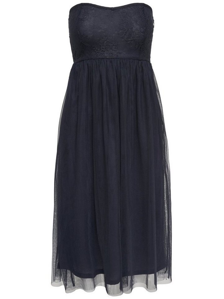 NU GRATIS VERZENDING: ONLY Mouwloze jurk blauw