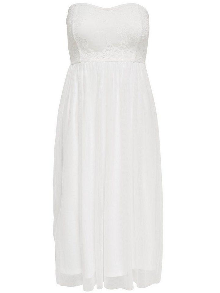 ONLY Mouwloze jurk wit