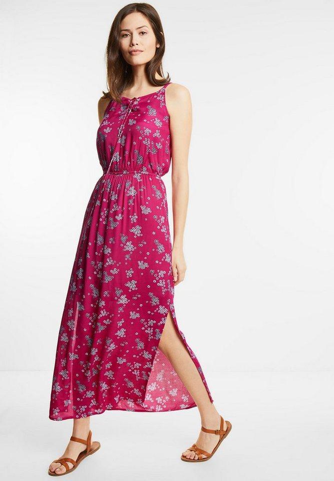 Street One Maxi-jurk met bloemen Posy roze