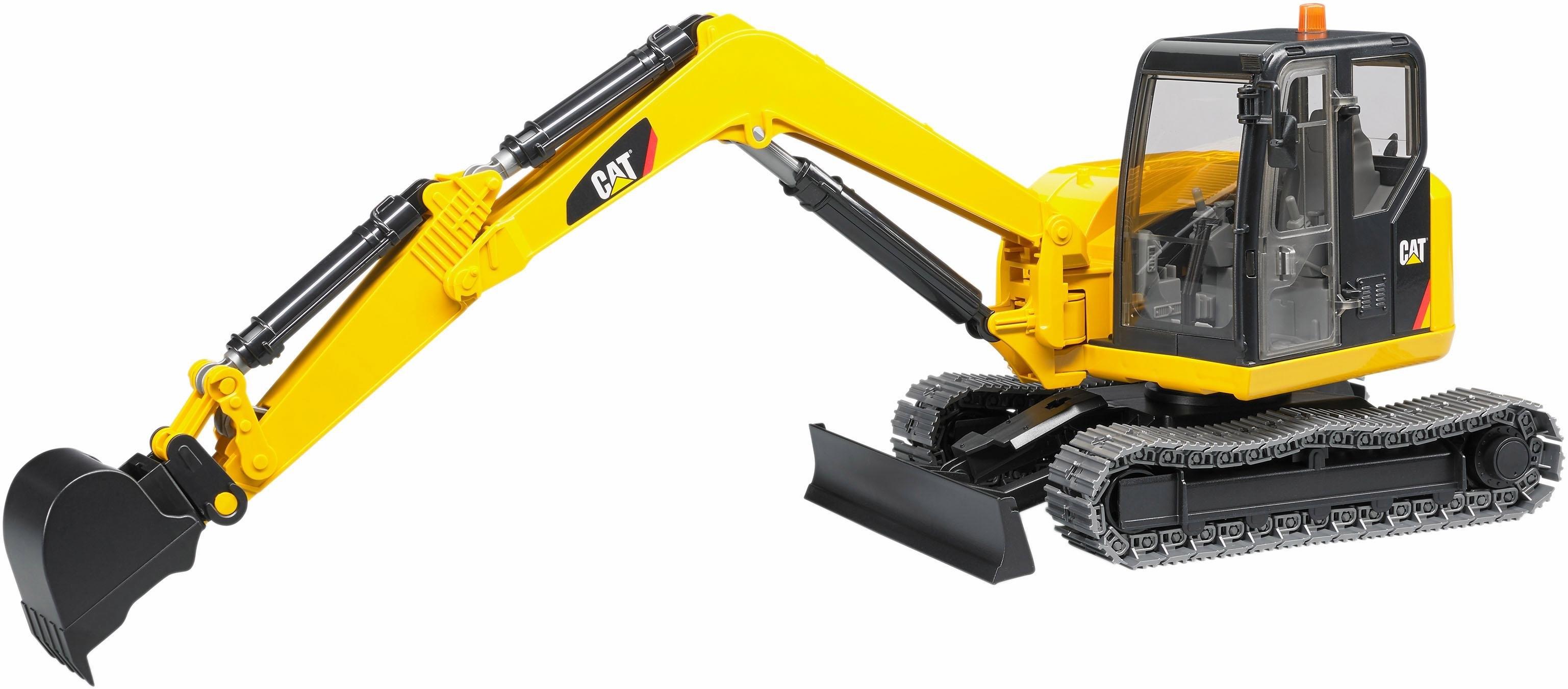 Bruder ® speelgoed-graafmachine, »CAT Minibagger, 1:16, geel« nu online kopen bij OTTO