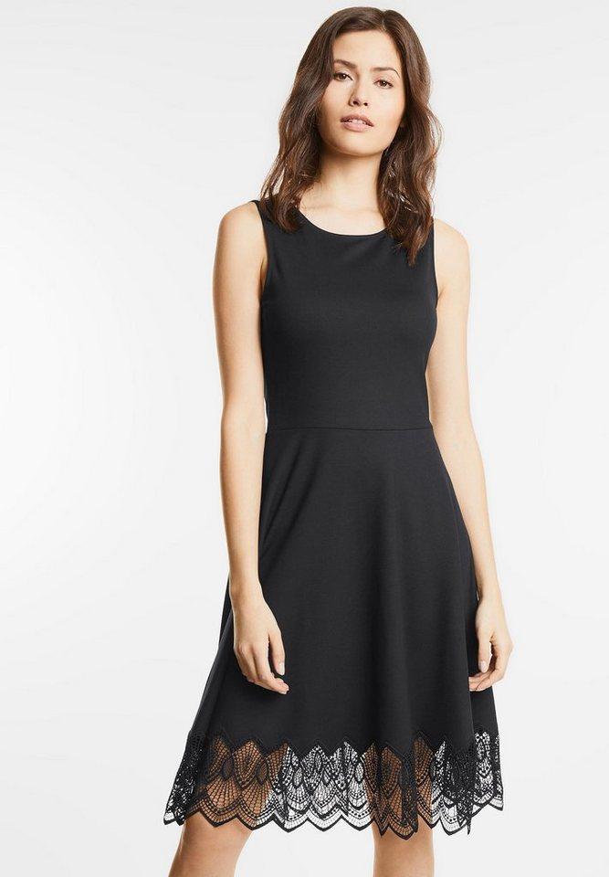 Street One Chique jersey jurk Charlene zwart