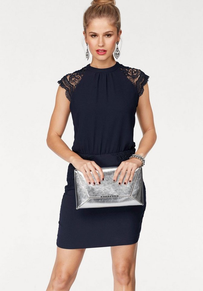 NU 21% KORTING: VERO MODA geweven jurk SHIRA blauw