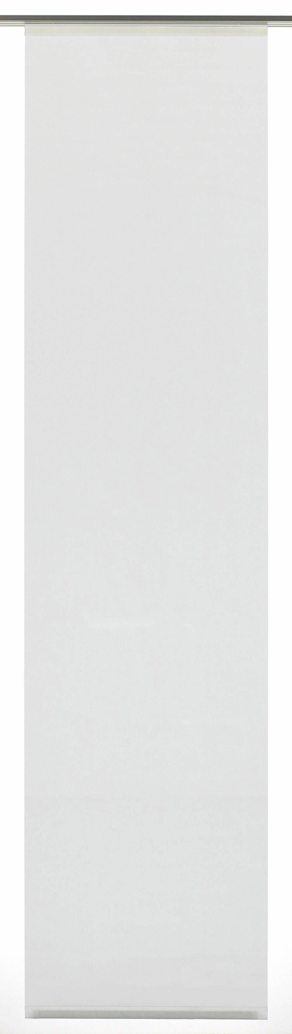 GARDINIA paneelgordijn stof uni met wit railsysteem (1 stuk) bij OTTO online kopen
