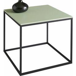 salontafel, vierkant 50 cm groen