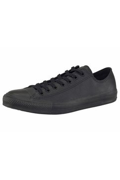 converse sneakers chuck taylor basic leather ox monocrome zwart