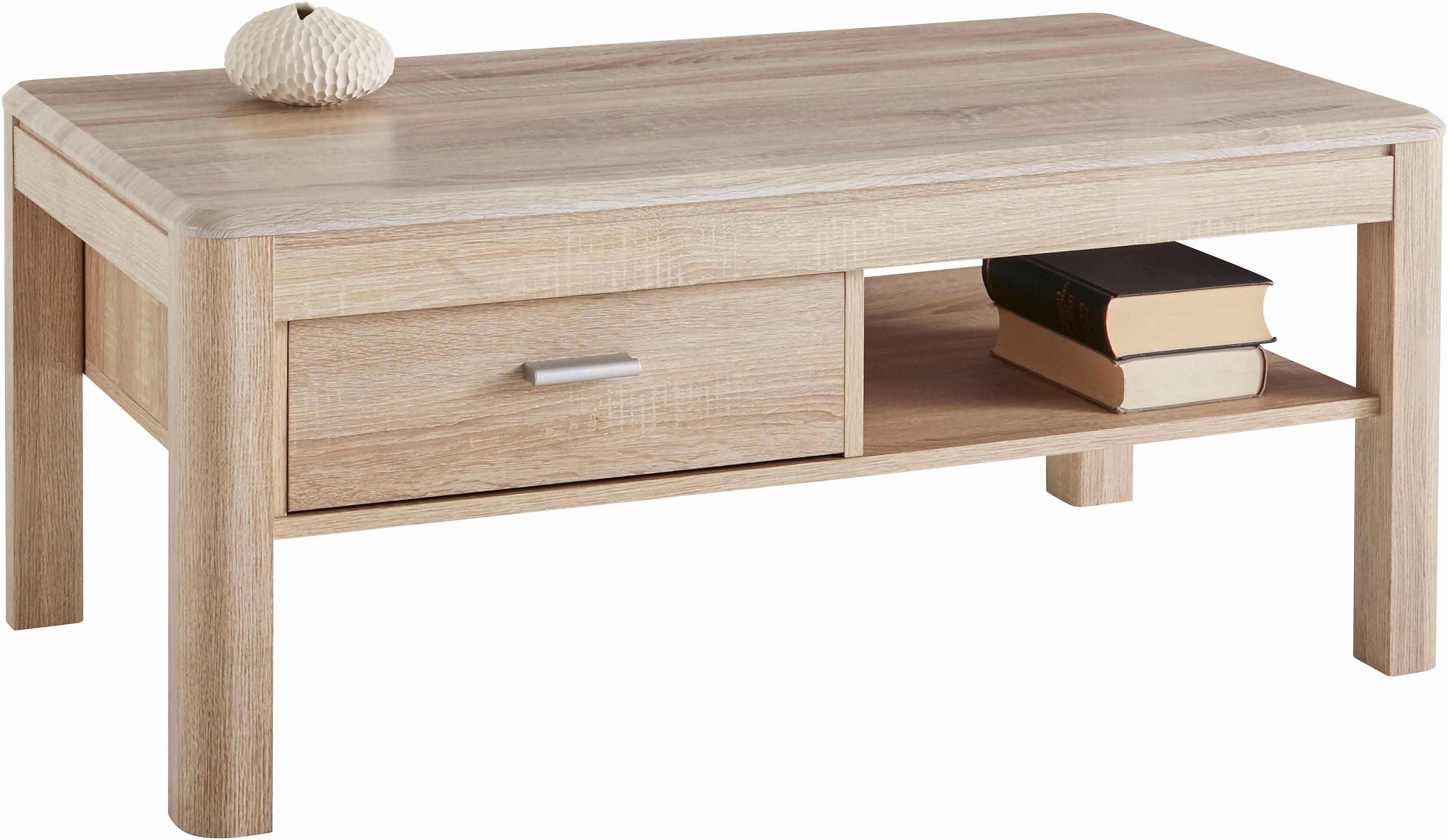 Salontafel met lade en plank in de online winkel otto