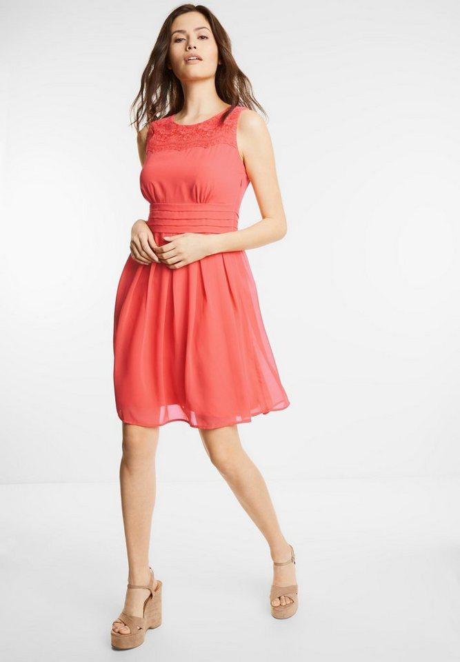 Street One Getailleerde jurk Marta rood