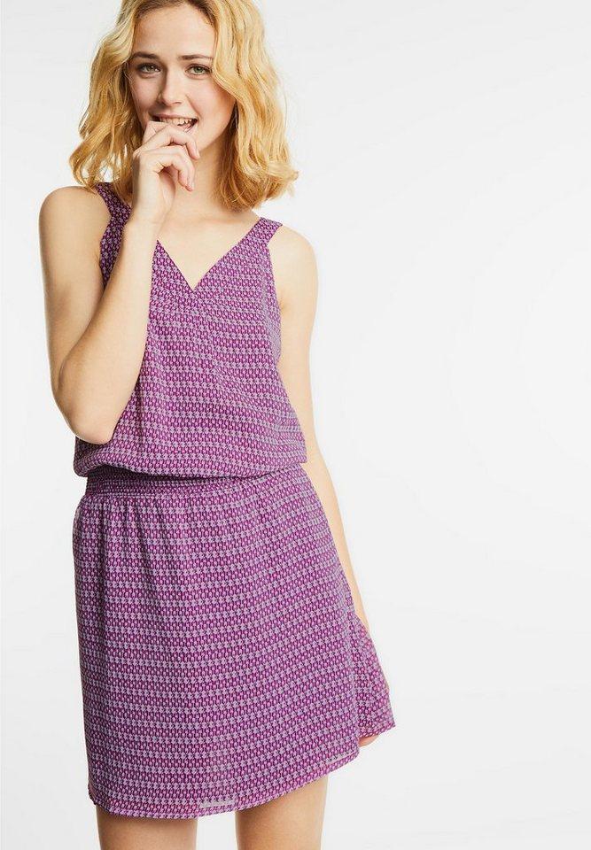 Street One jurk met elastiek Reva paars