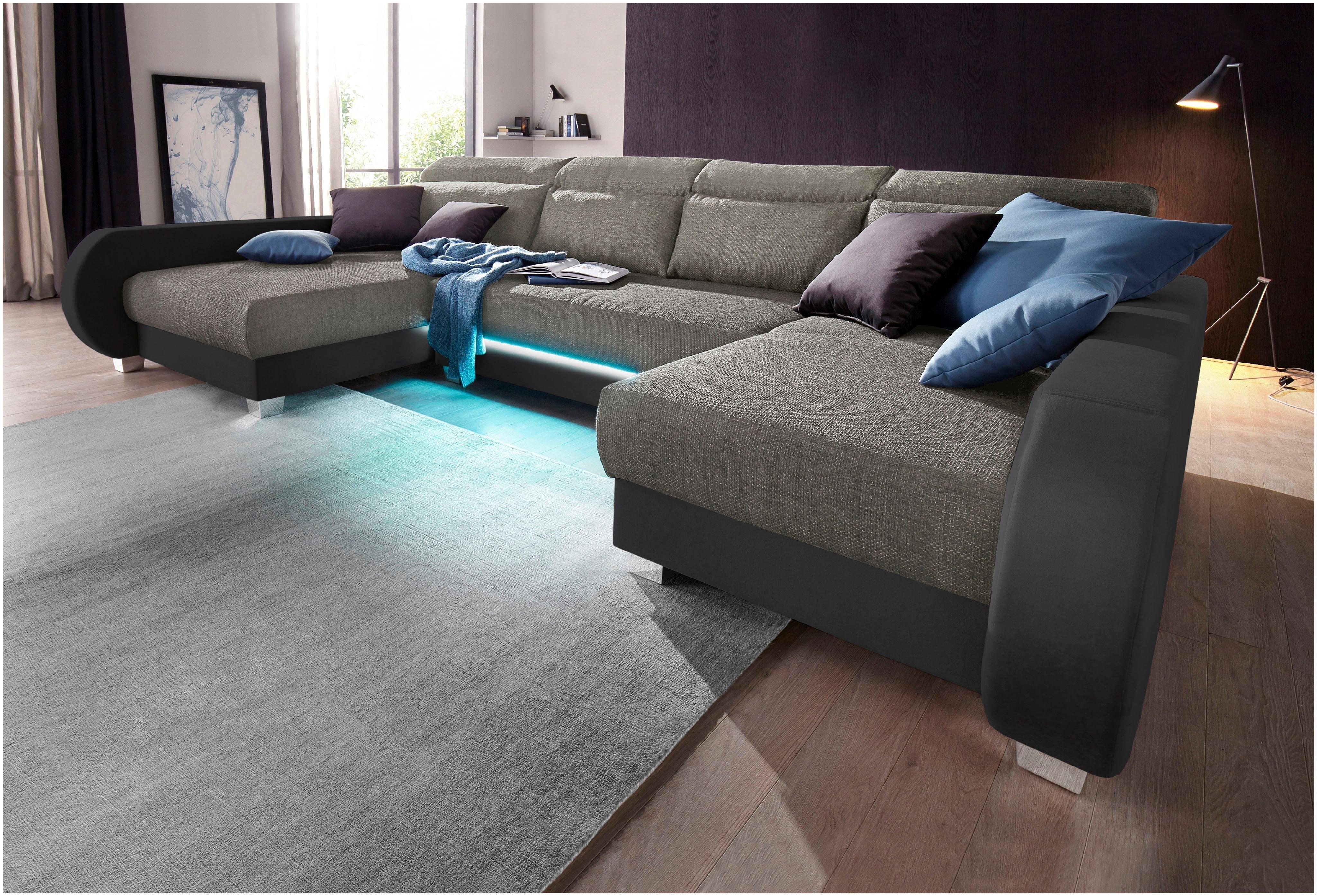 COLLECTION AB zithoek inclusief LED-verlichting, naar keuze met ...