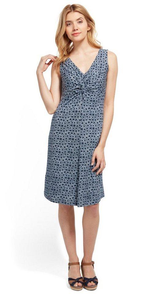 Tom Tailor jurk »jersey jurk met motief« blauw
