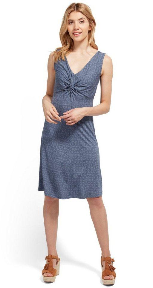 Tom Tailor jurk jersey jurk met motief blauw