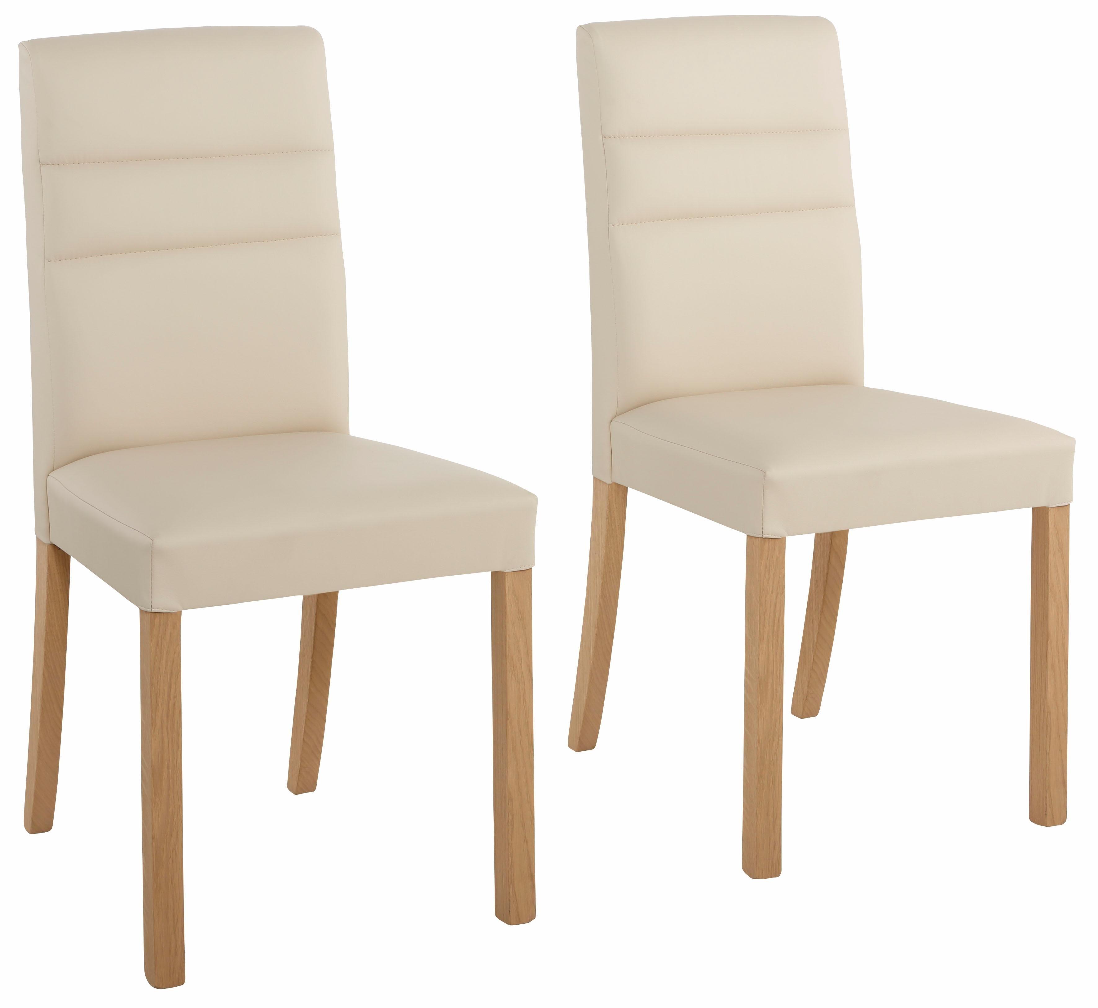 Home Affaire stoel »Lona«, met imitatieleer of structuurstof bekleed, in set van 2, 4 of 6 - verschillende betaalmethodes