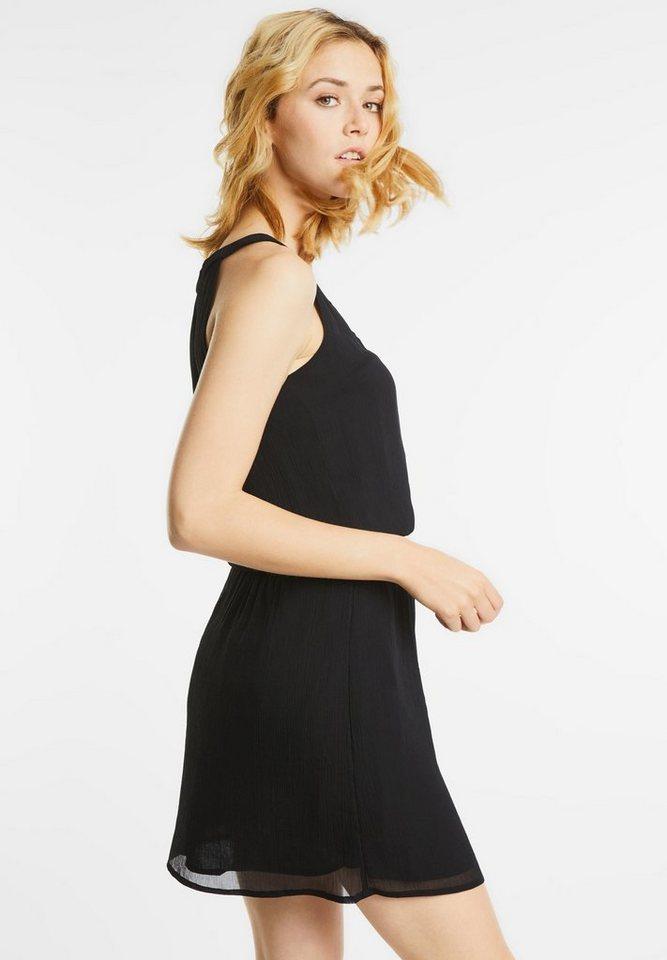 Street One jurk met elastiek Reva zwart