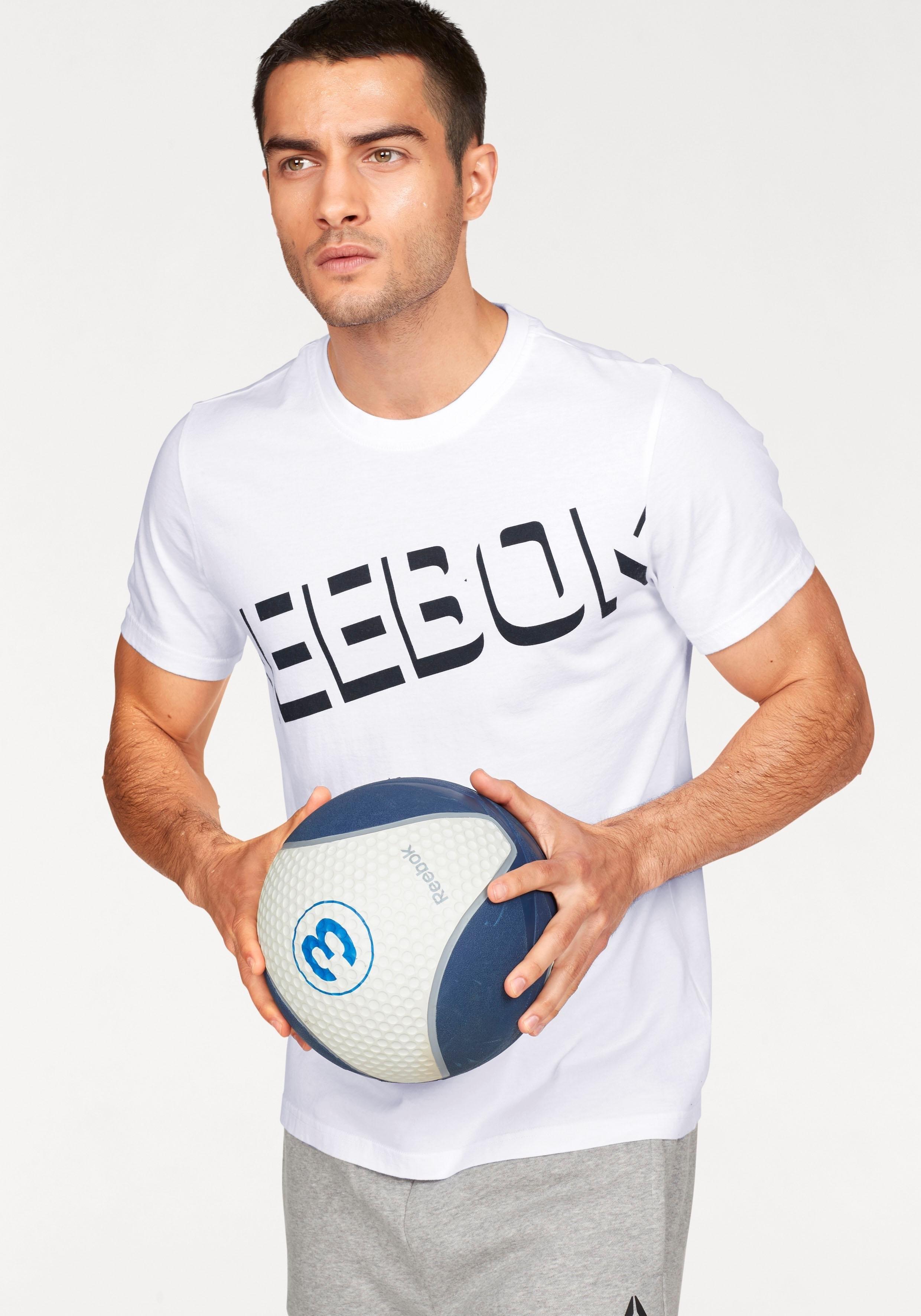 Reebok T-shirt »CS GRAPHIC TEE« voordelig en veilig online kopen