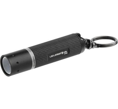 LED Lenser K2 LED Mini zaklamp Werkt op batterijen 25 lm 20 g Zwart