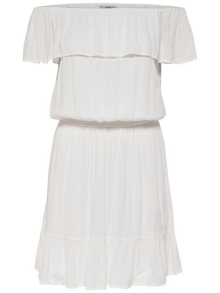 NU 21% KORTING: ONLY Korte jurk wit