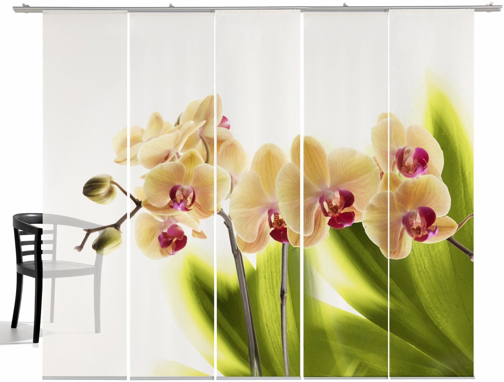 Paneel Gordijn 6 : Paneelgordijn emotion textiles orchidee« dlg incl