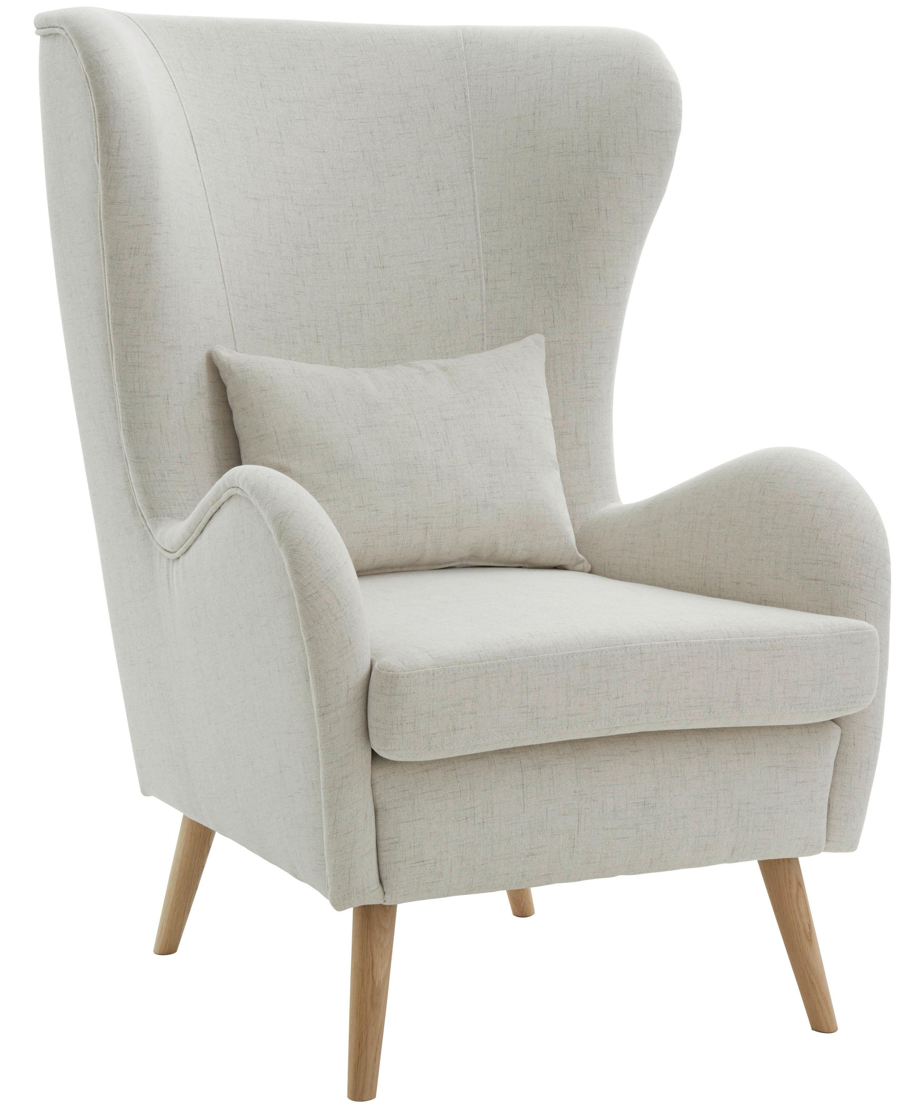 Guido Maria Kretschmer Home&living GMK Home & Living fauteuil «Salla», naar keuze met of zonder hocker nu online kopen bij OTTO